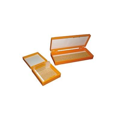 Caja para almacenar portaobjetos