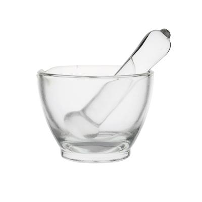 Mortero de vidrio con mano Premium Line