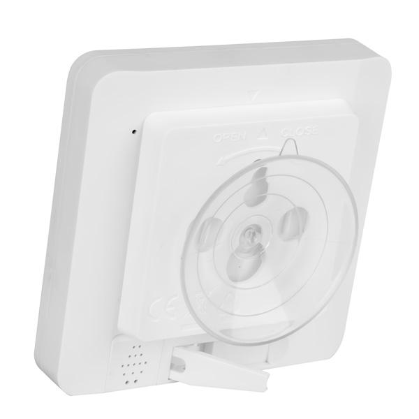 Termo-higrómetro digital para interiores con temporizador KT-9