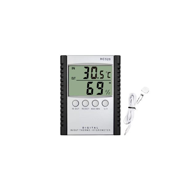 Termo-higrómetro digital para interiores / exteriores HC-520