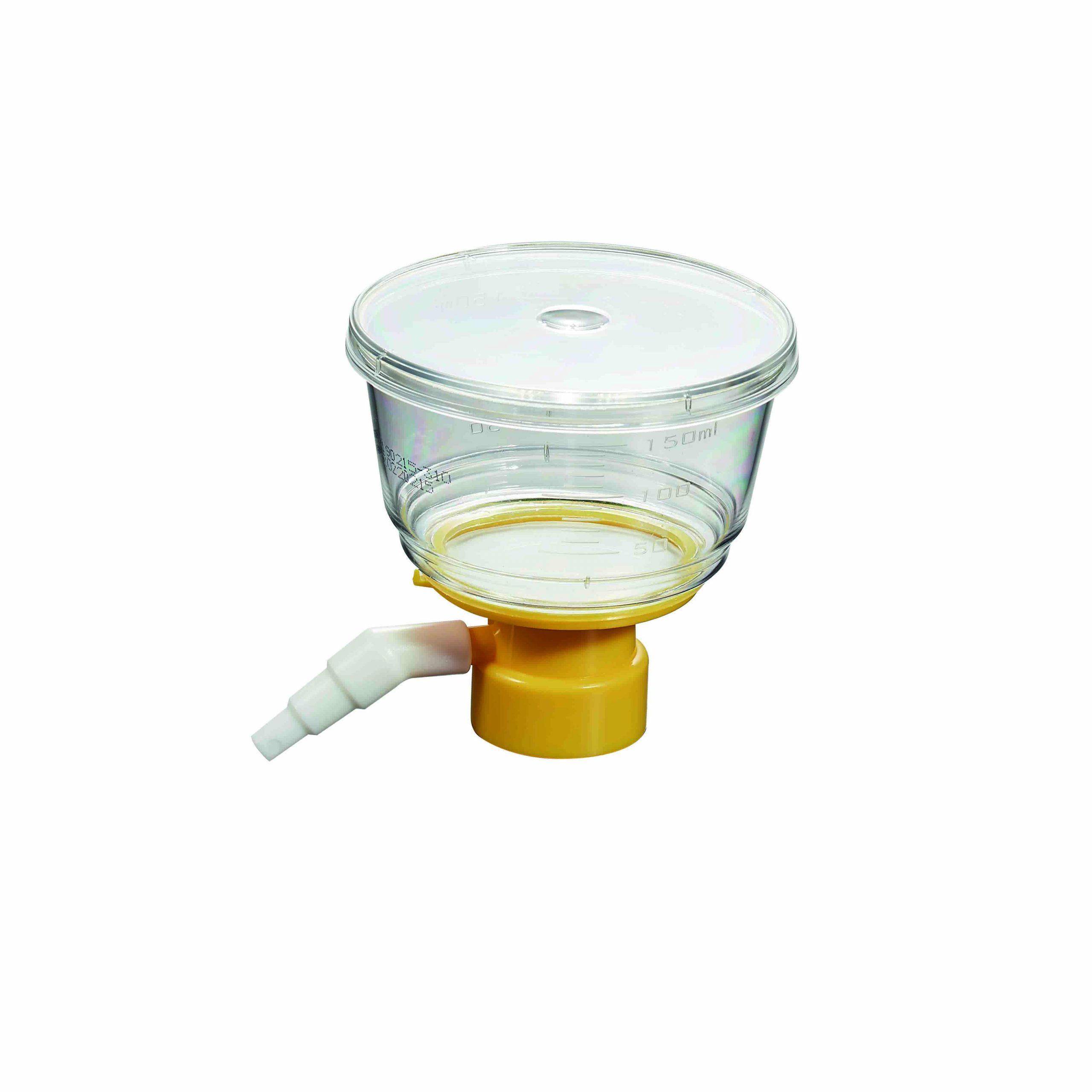 Copa de filtración para tubos, estéril
