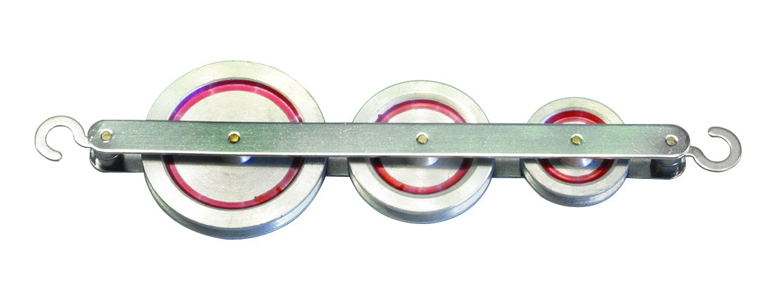 1064 Poleas de aluminio