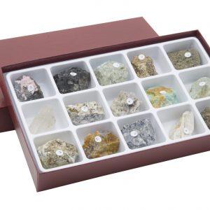 HS2305 Colección de 15 cristales naturales