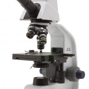 B-150D-MRPL Microscopio digital monocular, 400x, cámara integrada de 1.3 MP, batería de ion litio recargable, objetivos N-PLAN, enchufe múltiple
